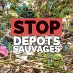 Non aux dépôts sauvages !